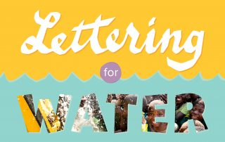 Lettering for Water