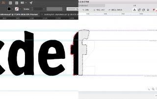 Taking glyphs from Adobe Illustrator to FontLab Studio VI